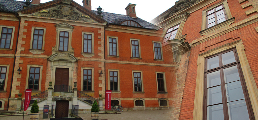 Sonnenschutzfolie: Schloss Bothmer